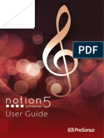 Notion5 UserGuide