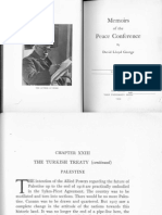 David Lloyd George ; 'Memoirs of the Peace Conference'; 1939; Chapter XXIII; The Turkish Treaty - Palestine.