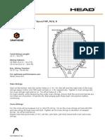 HEAD Stringing Instructions 2012 13