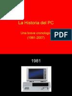 La Historia del PC