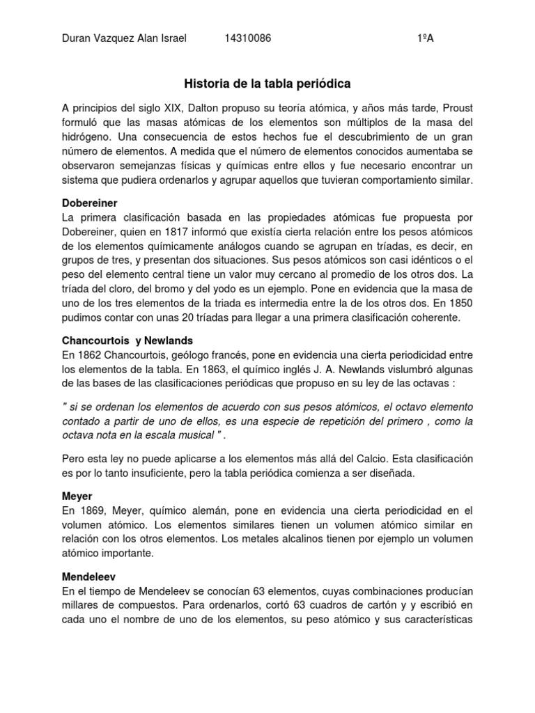 Historia de la tabla peridica duran vazquez 14310086pdf urtaz Image collections