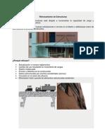 reforzamientos de estructuras