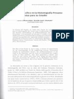 Donoso_La Guerra Del Pacífico en La Hístortograña Peruana_2006
