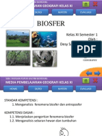 PPT Biosfer Kelas XI Semester Ganjil.pptx