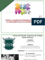 4 Elementos Instrumentales Para El Cumplimiento de Las Contribuciones Fiscal