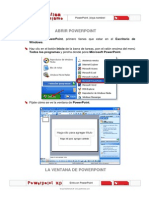 Manual Para Abrir Power Point