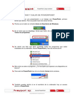 Manual Para Guardar y Salir de Power Point