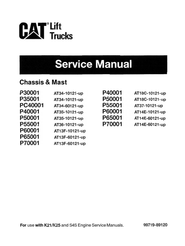 Caterpillar Forklift 422s Wiring Diagram Free Download Cat Fork Lift Ignition Switch Trucks Service Manual Battery Electricity Relay