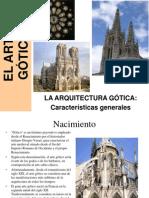 Arte Gtico Arquitectura Caractersticas Generales