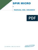 Manaul Uso Espirometro Datospir Micro