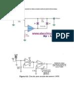 Precisión Medio Rectificador de Onda Usando Amplificador Operacional