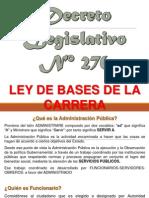 D.L. 276