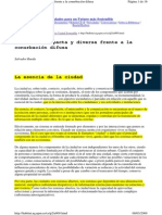 RUEDA S. (1997)-La Ciudad Compacta y Diversa Frente a La Conurbación Difusa