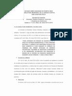 Informe P de O Núm. 20, Serie 2014-2015