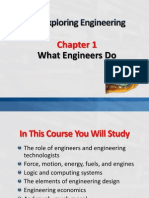 Chapter 1 What Engineers Do