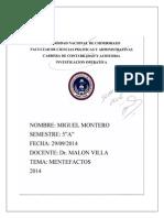 Mentefactos de La Investigación Operativa y de La Historia de Los Métodos Cuantitativas.