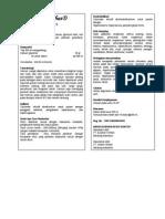 Brosur Steril Kalsium Glukonat 5%