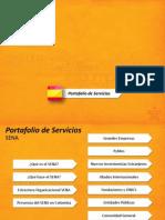Portafolio de Servicios 2010 ES