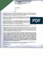 FADRHO_Letter to Gov Hataman 20Jan2014