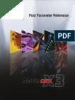 McamX3 Post Parameter Ref