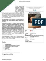 Acupuntura - Wikipedia, La Enciclopedia Libre