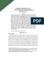 Membangun Jurnal Online Menggunakan Open Journal System di IAIN SMH Banten