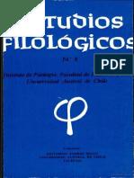 análisis filolófico