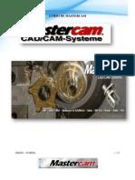 Mastercam Manual