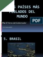 Los 5 Países Más Poblados Del Mundo