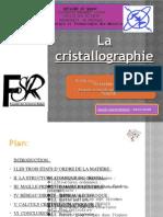 La Cristallographie