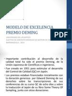 Modelo de Excelencia Premio Deming