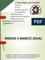 Expo Unidad 5 Marco Legal de Pymes