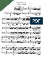 Chopin Paderewski No 8 Polonaises Op 53