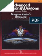 Tsr09234 - Dungeon Master's Design Kit