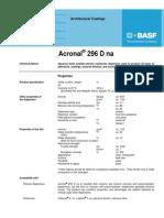 Acronal 296 D