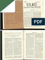 Ali Çetinkaya 1935 Aydın Demiryolunun Satın alınması