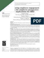 Exploring Employee Engagement