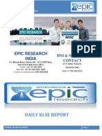 EPIC RESEARCH MALAYSIA - Daily KLSE Malaysia Report of 12th November 2014