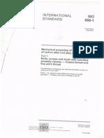 International Standard EN 898-1