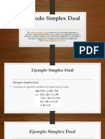 Método Simplex Dual