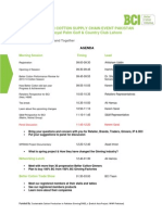 Agenda - Better Cotton Supply Chain Event Pakistan (1)