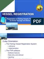 Vessel Registration