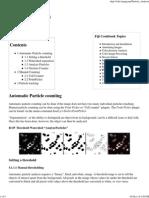 Particle Analysis - ImageJ- Manual1