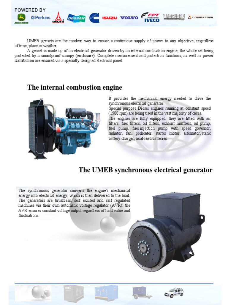 Gensets Pdf Mains Electricity Internal Combustion Engine Lombardini Fuel Filter