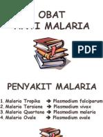 Obat Anti Malaria