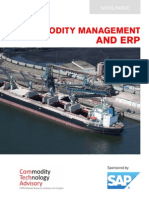 Commodity Management and ERP