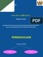 OSA Dan Obesitas