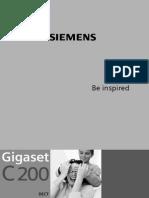 Siemens gigaset_c200 phone