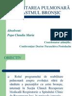 Reabilitarea Pulmonară În Astmul Bronșic