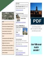 Brochure Touristique Quebec